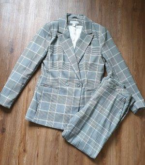 Anzug Set zweireihiger Blazer + Hose
