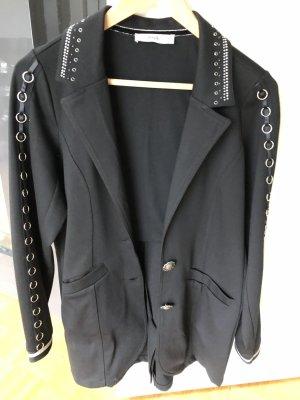 Tredy Trouser Suit black-light grey viscose
