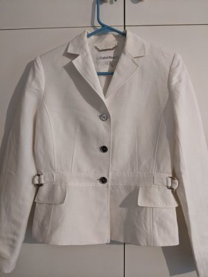 Calvin Klein Ladies' Suit white linen
