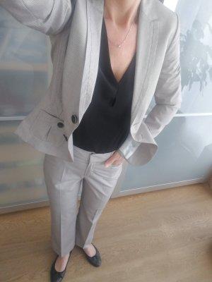 Comma Trouser Suit natural white-beige