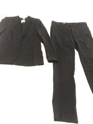 Filippa K Zakelijk pak zwart Wol