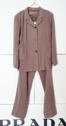 Jil Sander Business Suit multicolored new wool