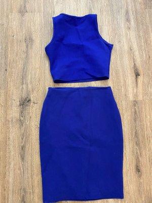 Costume à rayures bleu