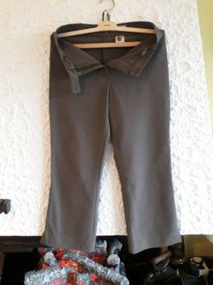 Chaloc Pantalón de vestir gris verdoso