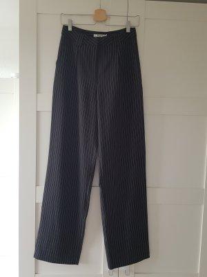 NA-KD Pantalone da abito bianco-nero
