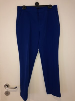 Zara Bandplooibroek blauw