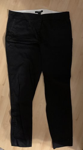 Forever 21 Jersey Pants black-white cotton