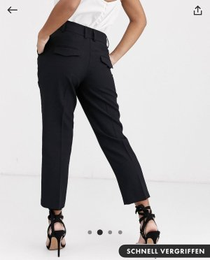 Asos Peg Top Trousers black