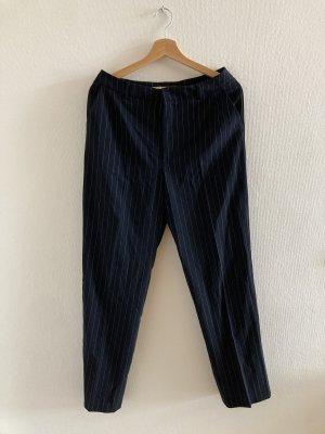 Strenesse 7/8 Length Trousers dark blue-white