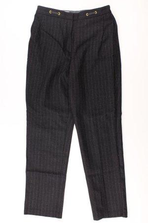 Spodnie garniturowe czarny Wełna