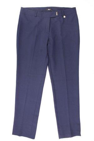 Anzughose Größe IT 48 blau aus Polyester