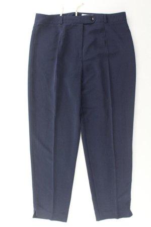 Anzughose Größe L/XL blau aus Polyester