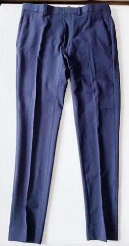 ASOS DESIGN Pantalon de costume bleu foncé