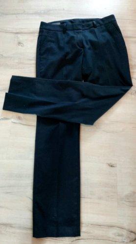 s.Oliver Spodnie garniturowe niebieski Tkanina z mieszanych włókien