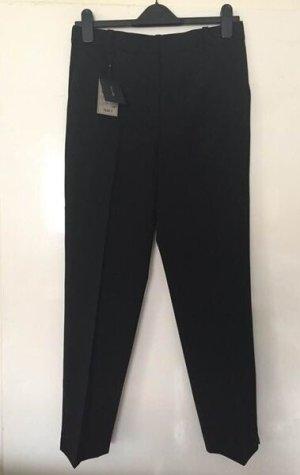 Massimo Dutti Pantalon en laine noir laine