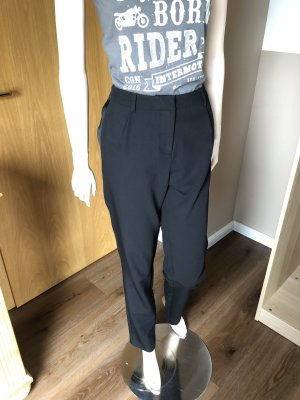 H&M Pleated Trousers black