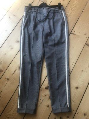Opus Pantalone a pieghe multicolore Cotone