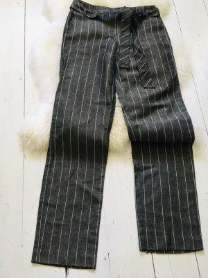 Mango Pantalone da abito nero-bianco