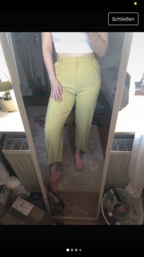 Topshop Chinos yellow-pale yellow