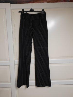 Boysen's Pantalon de costume blanc-noir