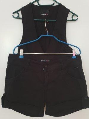 Fishbone Shorts nero