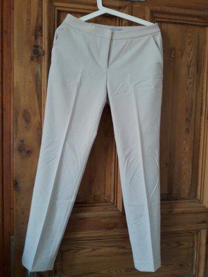 Anna Dello Russo for H&M Stoffen broek licht beige-wolwit Gemengd weefsel