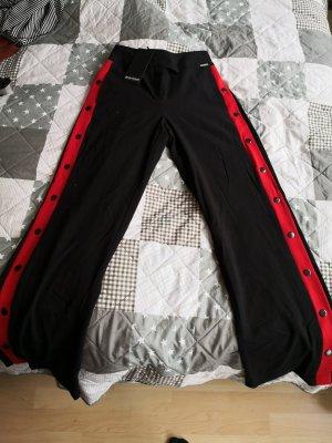 Bruno Banani Pantalone da abito nero-rosso