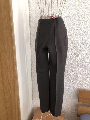 Maßanfertigung Pantalone da abito antracite Lana