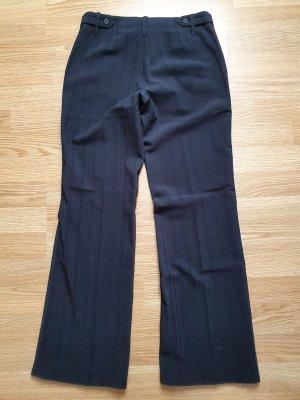 Tally Weijl Pantalone a zampa d'elefante nero-grigio scuro