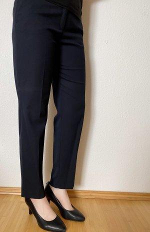s.Oliver Black Label Spodnie garniturowe ciemnoniebieski-niebieski