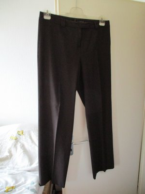 Comma Pleated Trousers dark brown