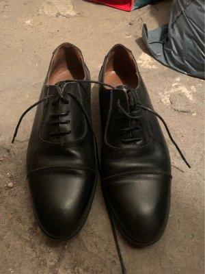 Mango Lace Shoes black