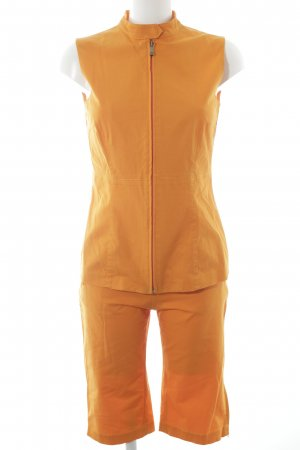 Gilet de costume orange style mode des rues