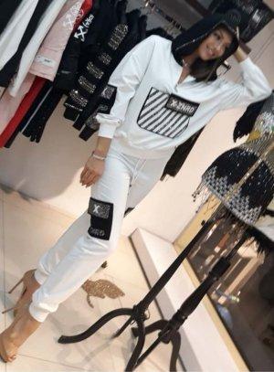 Zanardi Italy Ladies' Suit white-black