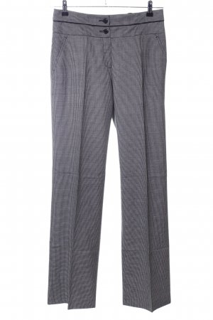 Apanage Suit Trouser light grey allover print business style