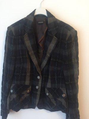Apanage Blazer corto marrone-nero-bronzo Cotone