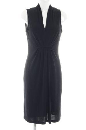 Apanage Blusenkleid schwarz Elegant