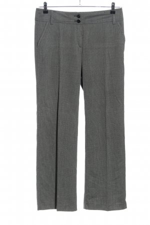 Apanage Bundfaltenhose hellgrau meliert Business-Look