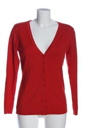 Apanage Cardigan rouge style décontracté