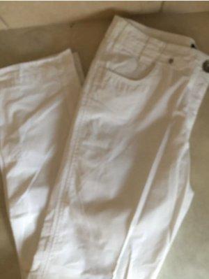 Apanage Stoffen broek wit
