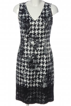 Apanage Sheath Dress black-white abstract pattern casual look
