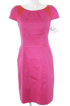 Apanage Robe fourreau rose-rouge clair style d'affaires