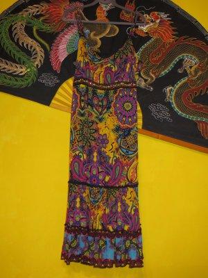 Apanage Robe mi-longue multicolore viscose