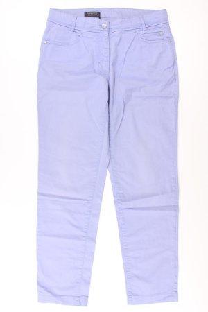 Apanage Hose Größe 38 blau aus Baumwolle