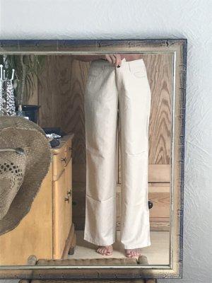 Apanage Lniane spodnie Wielokolorowy