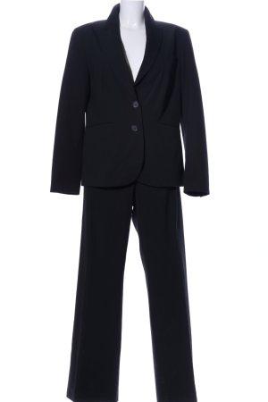 Apanage Tailleur-pantalon noir style d'affaires