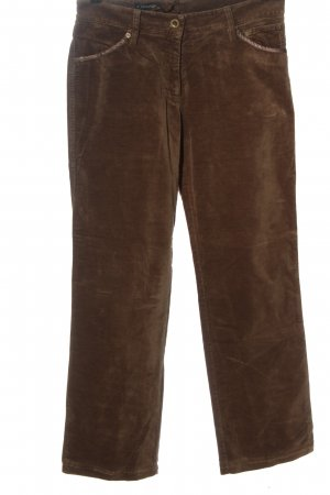 Apanage Lage taille broek bruin casual uitstraling