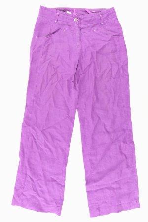 Apanage Jeans Größe 36 lila aus Leinen