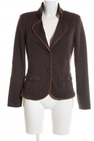 Apanage Jerseyblazer braun Casual-Look