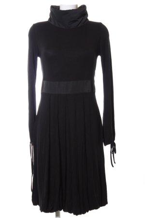 Apanage Jerseykleid schwarz Casual-Look
